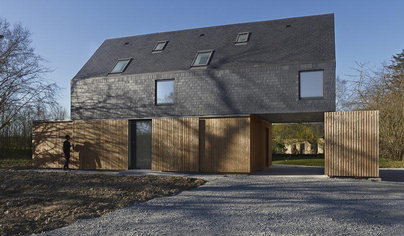 Images tagged brise soleil construire tendance - Maison bretonne moderne ...