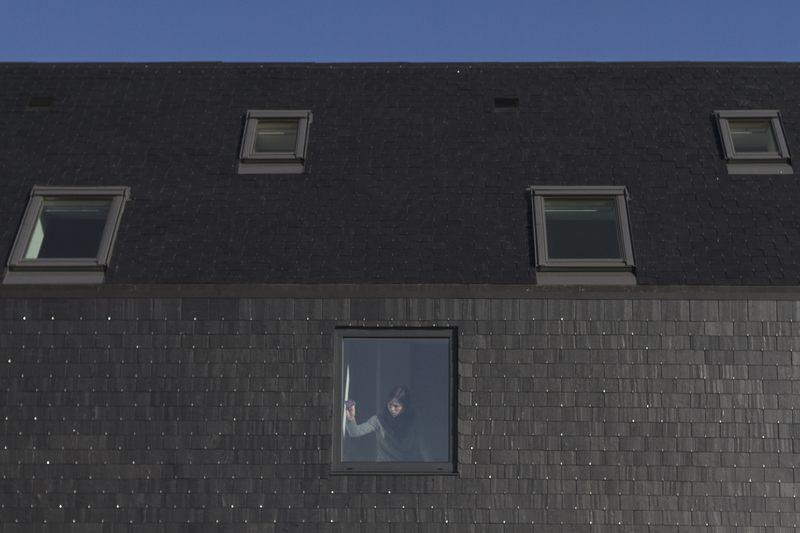 fenêtres de toit - Maison L. ossature bois par Atelier 56S - Bruz (35) - France - Photo Jeremías Gonzalez