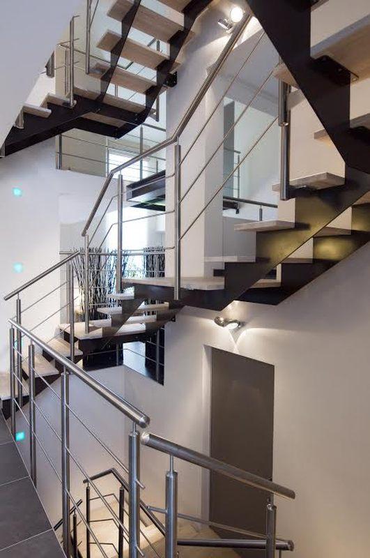 escalier - Maison SZTANTICS par Thierry Noben - Nospelt Luxembourg