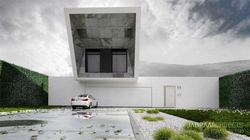 Vue Principale - Skyfall House par Jabra Architects, Pologne.jpg