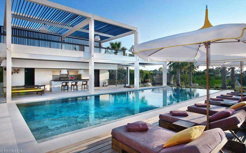 piscine - villa location cap d'antibes - France