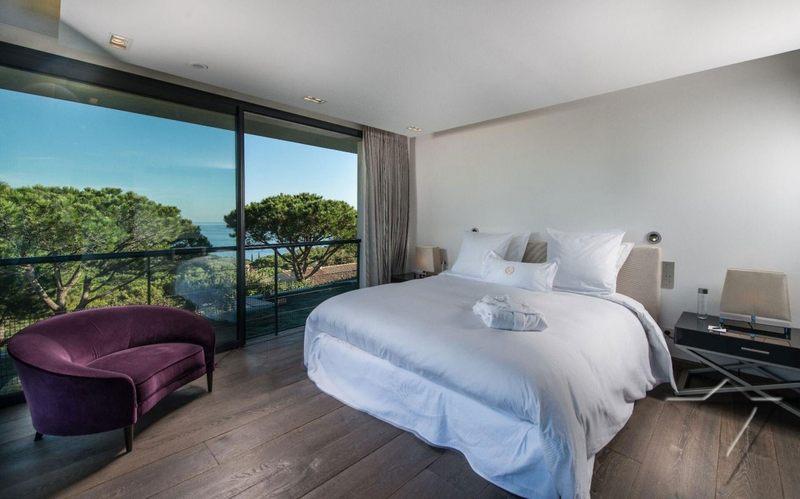 chambre vue sur mer - Villa -St Tropez - France