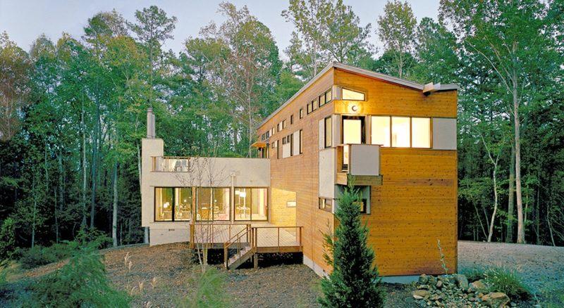 Dwell home par 4 architecture pittsboro usa - La contemporaine villa k dans les collines de nagano au japon ...