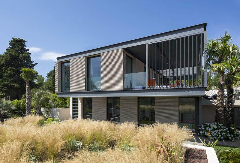 Maison h3 villa contemporaine par vincent coste st for Facade maison bois contemporaine