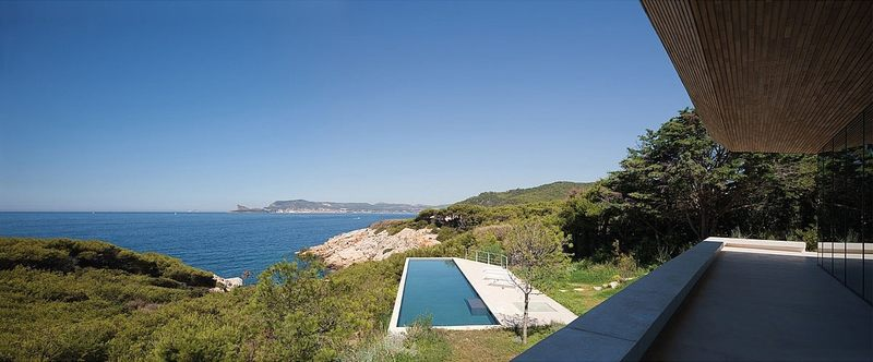 vue sur mer et pisicine - Alon House par AABE et Partners -France