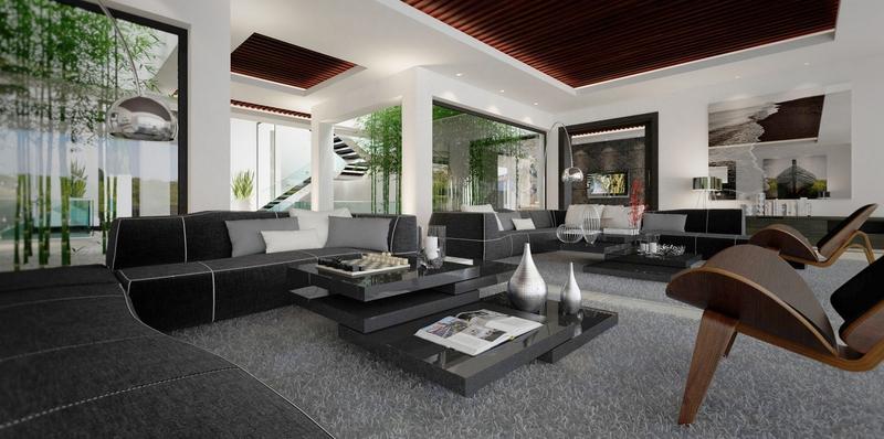 luxueuse villa par ark architects san roque espagne construire tendance. Black Bedroom Furniture Sets. Home Design Ideas
