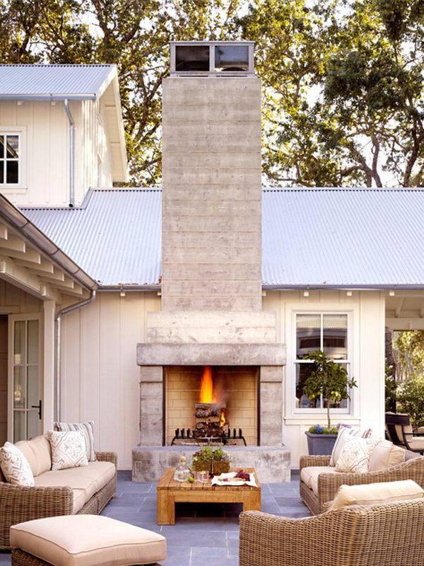 Chemin e ext rieure transitional farmhouse design par - La contemporaine villa k dans les collines de nagano au japon ...