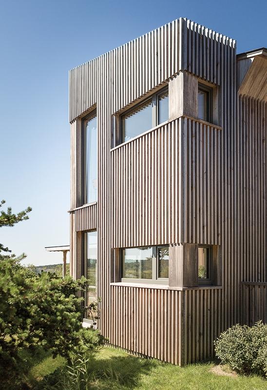 bardage bois extérieur – Wooden home artist par Will Winkelman et ...