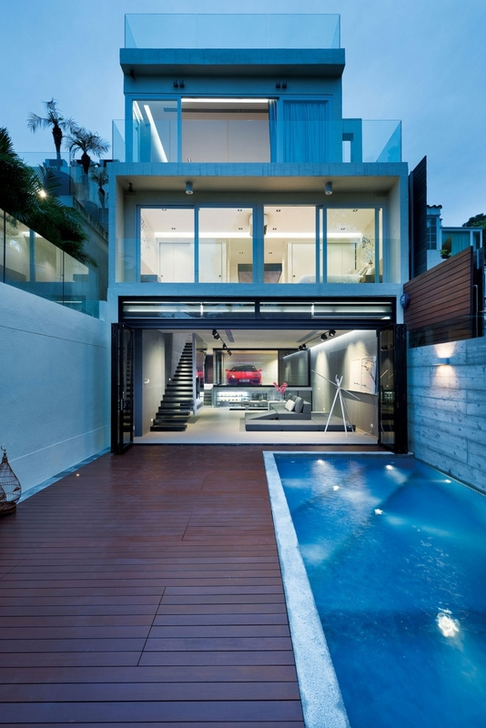 Façade terrasse - House Sai Kung par Millimeter Interior Design - Sai Kung District, Hong Kong