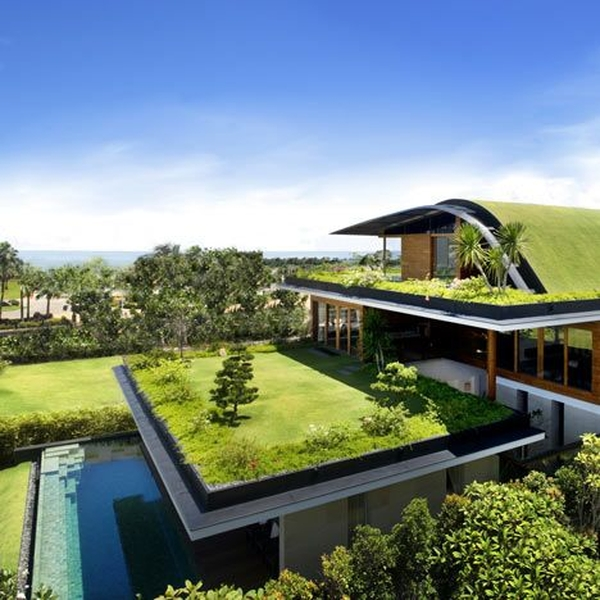 Guz architecture sky garden house construire tendance - La contemporaine villa k dans les collines de nagano au japon ...