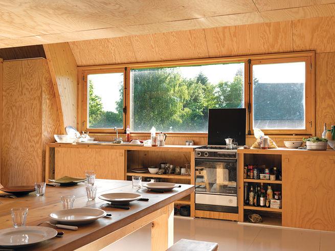 cuisine - Barache residence par Jean-Baptiste Barache - Auviliers, France