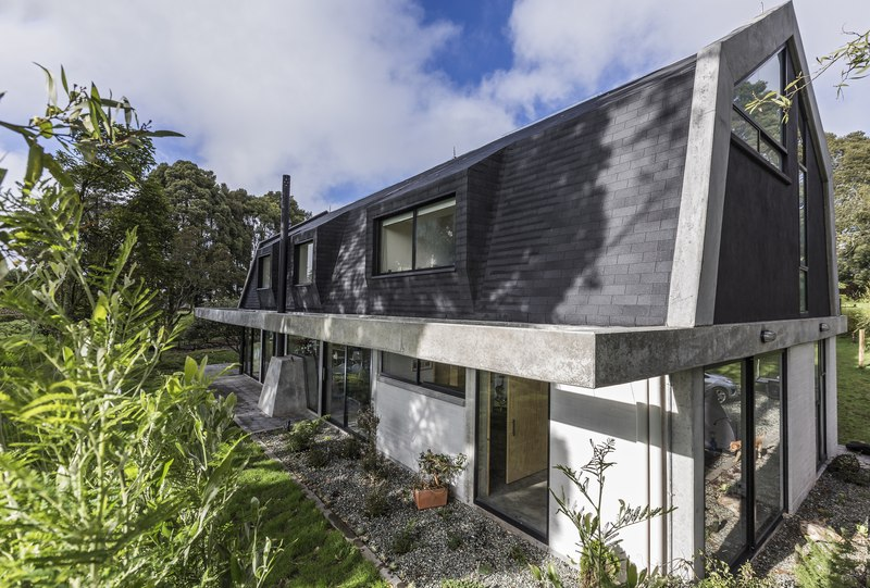 façade extérieure - BO House par Plan B Arquitectos - Colombie