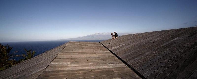 toiture - Clifftop House Maui par Dekleva Gregoric Arhitekti - Maui, Hawaï