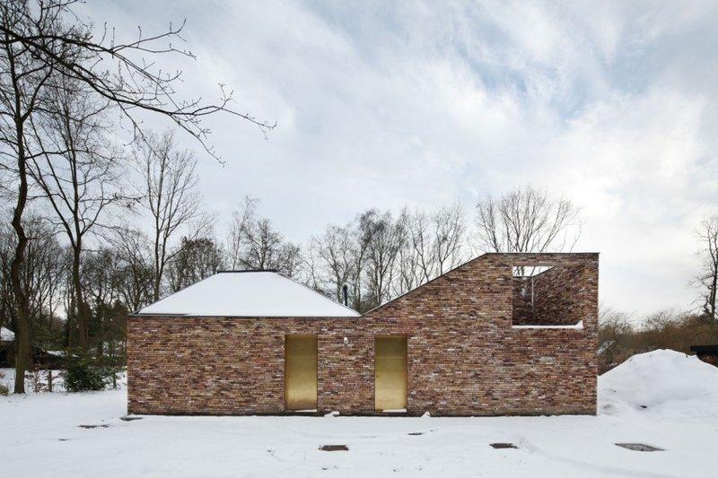 Fa ade huis voor patrick par low architecten belgique - La contemporaine villa k dans les collines de nagano au japon ...