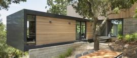 extension en porte à faux - résidence d'été par Shands Studio Architects - San Anselmo, Usa