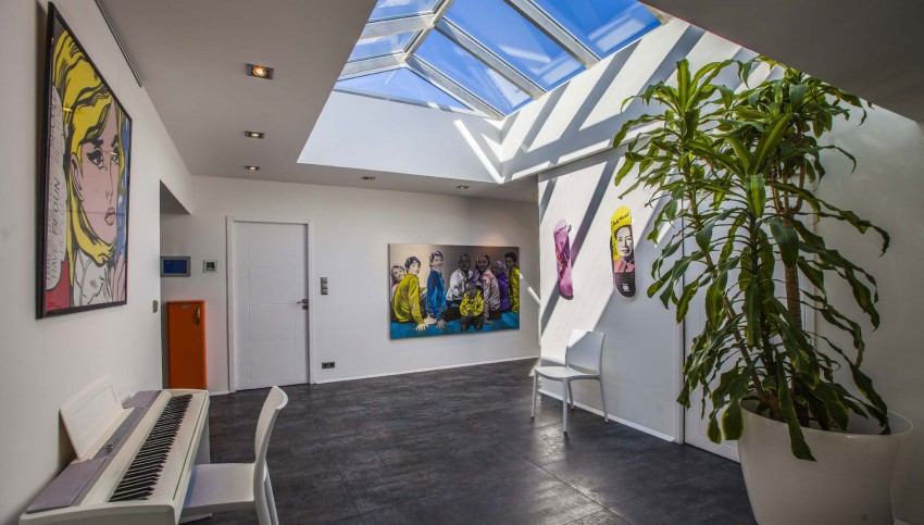 hall d'entrée - Villa Pop Art à Anglet, France