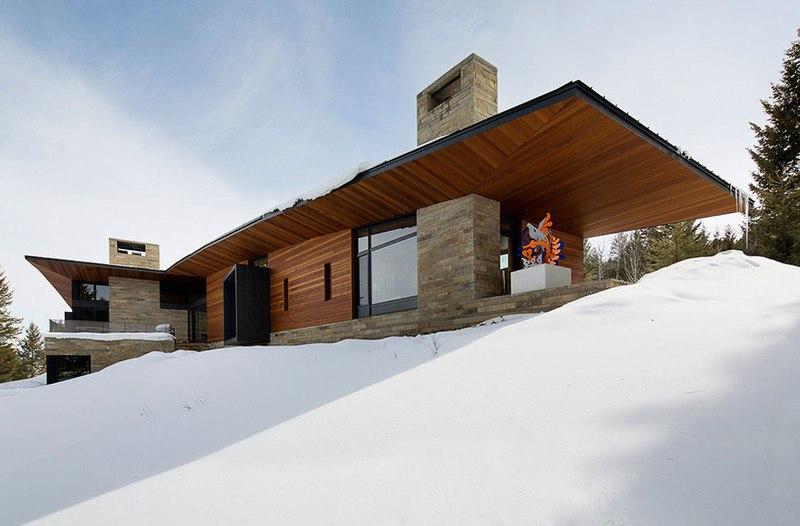 façade - Butte Residence par Carney Logan Burke Architects - Jackson, Usa