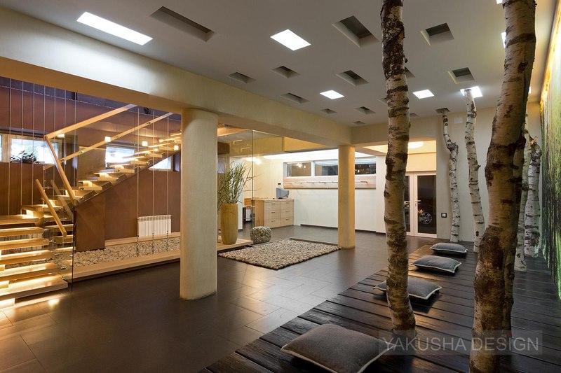 hall entrée - House «Ecominimalizm». par Yakusha Design - Dnipropetrovsk, Ukraine