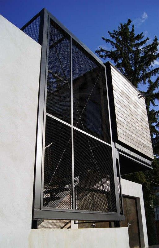côté - maison Pegasus par Saint-Cricq architecte - Toulouse, France