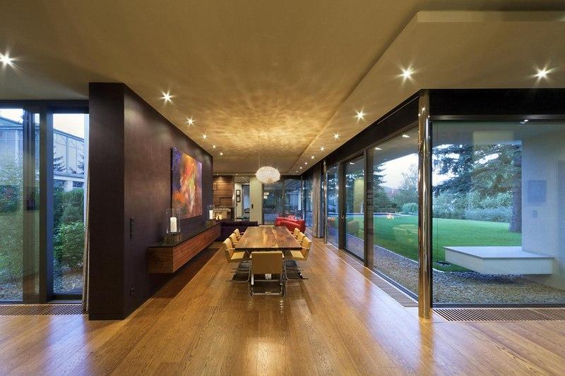 séjour - Reviving Mies par Architéma -  Buda Hills, Hongrie