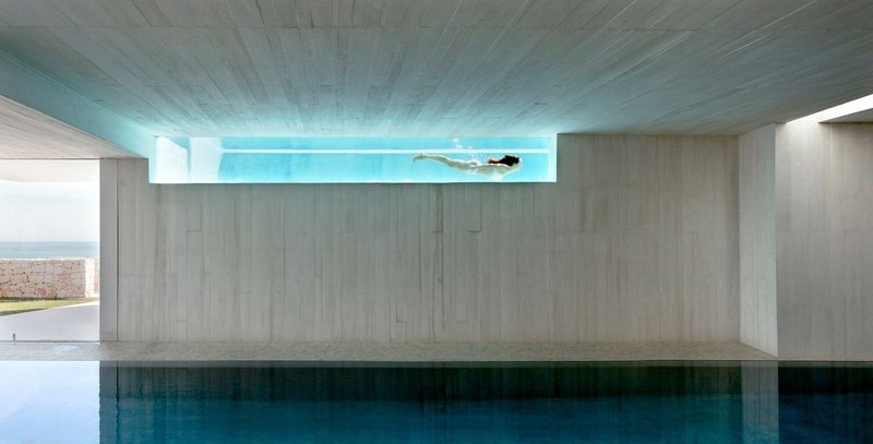 double piscine - Sardinera House par Ramon Esteve Estudio - Valencian Community, Espagne