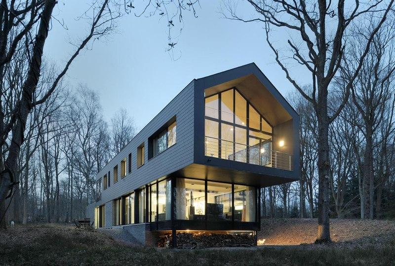 sous bois par luc spits architecture liege belgique