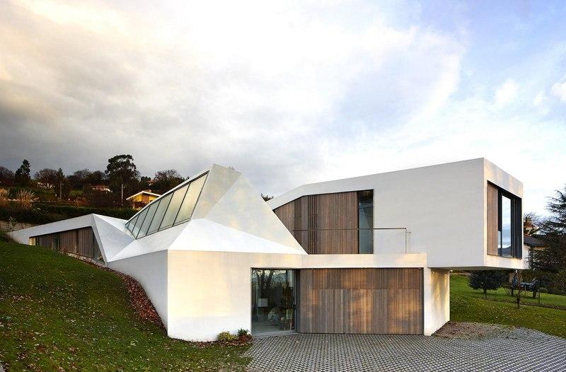 façade - Maison et atelier d'artiste par Miba architects - Gijón, Espagne