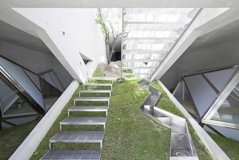Hwa hun par iroje khm architects pyeongchang dong cor e du sud construire tendance - Architectuur escalier ...