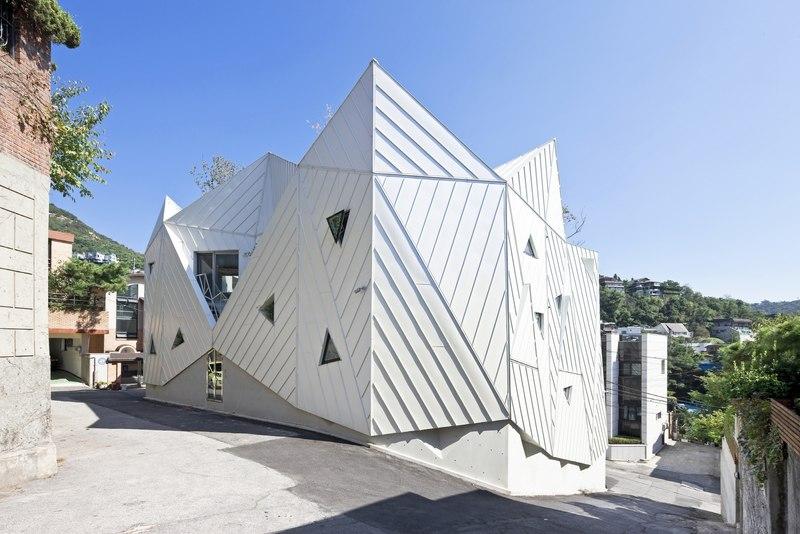 façades - HWA HUN par IROJE KHM Architects - Pyeongchang-dong, Corée du Sud
