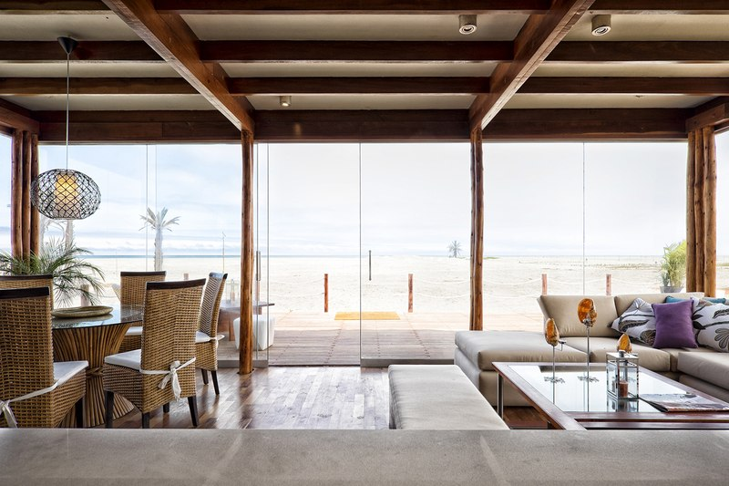 séjour et salon - House in Playa del Carmen par YUPANA Arquitectos - Chincha Alta, Pérou