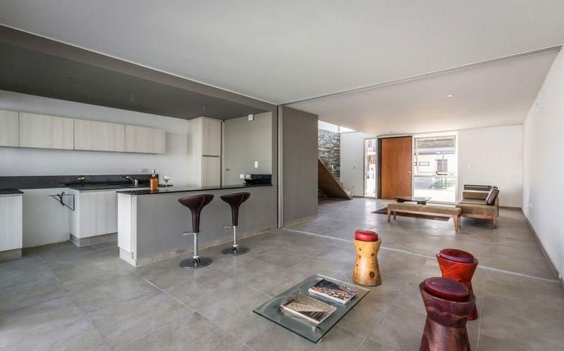 Belle maison urbaine en pierres et b ton avec jardin - Terrasses en ville un bel exterieur par d space studio ...