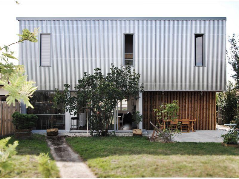 Bardage m tallique pour maisons contemporaines construire tendance - Bardage metallique pour maison ...