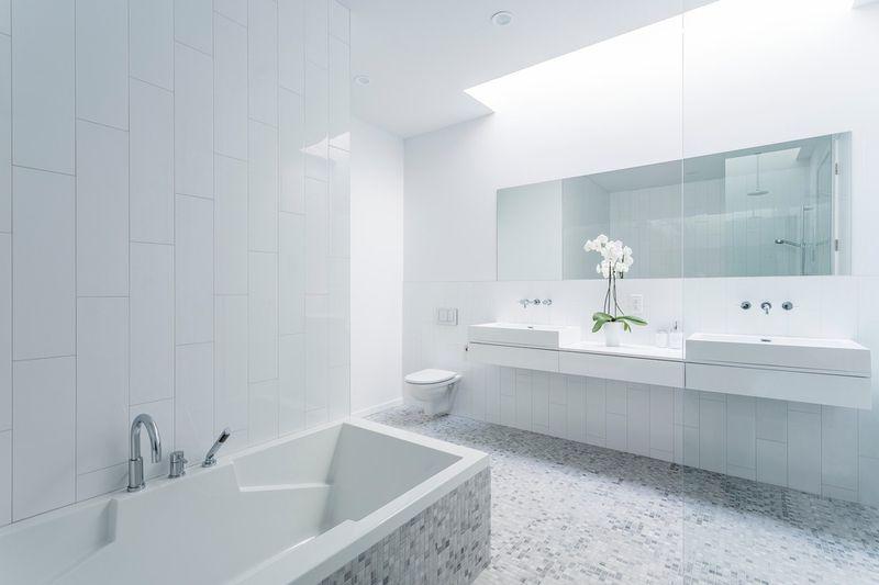 salle de bains - Résidence Waverly par MU Architecture - Montréal, Canada