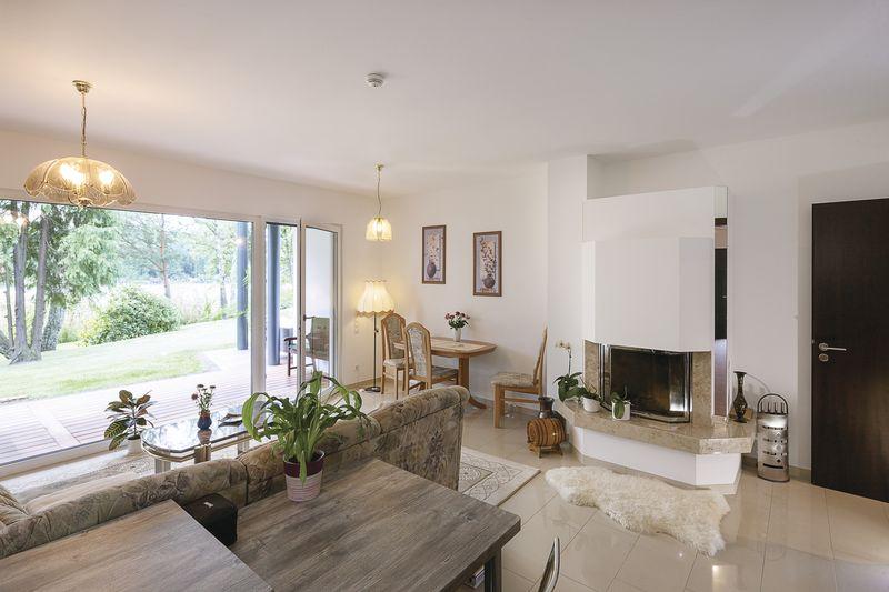 studio - Maison en ossature bois par Weberhaus -Brandebourg, Allemagne