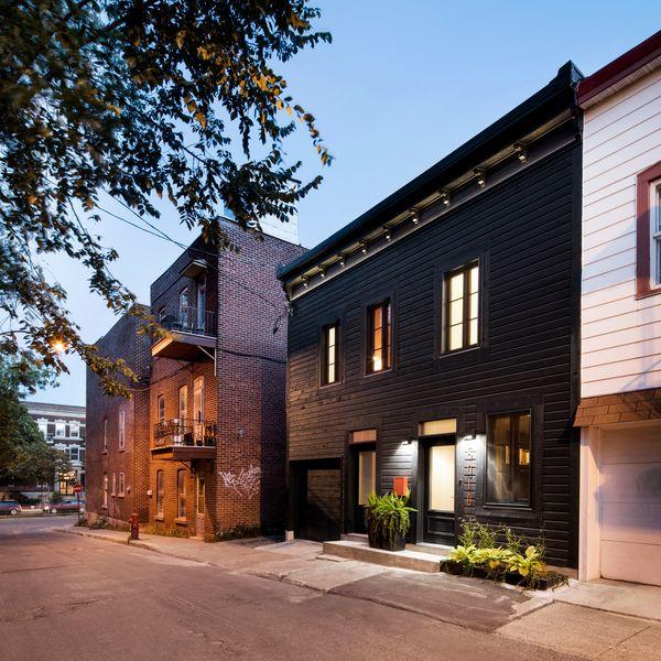 façade rue - Résidence LeJeune par Architecture Open Form - Montréal, Canada