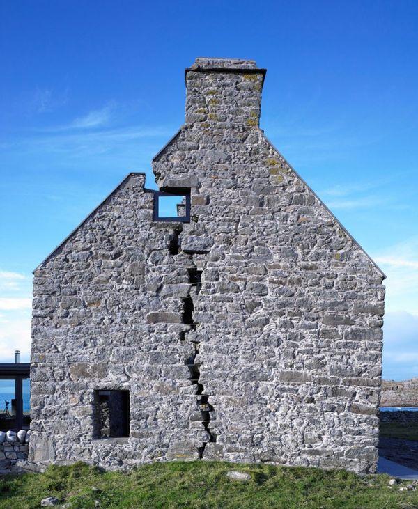 R novation et extension vitr e pour cette maison traditionnelle cossaise construire tendance for Maison ancienne renovee contemporaine