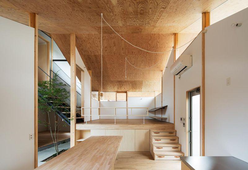 architecture atypique pour maison japonaise bioclimatique en bois construire tendance. Black Bedroom Furniture Sets. Home Design Ideas