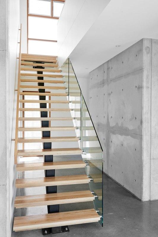 10 maisons contemporaines au savant dosage de bois et b ton construire tendance. Black Bedroom Furniture Sets. Home Design Ideas