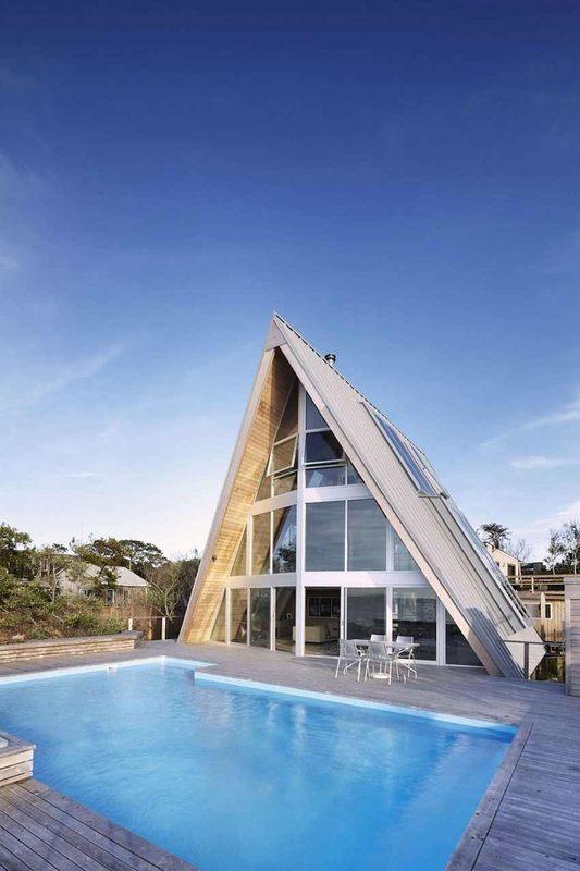 12 Maisons 224 L Architecture Triangulaire Construire Tendance