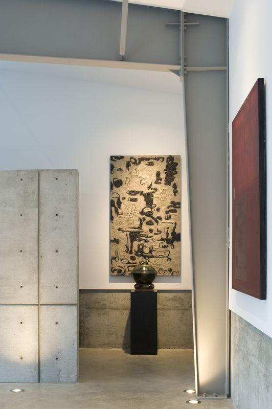 Maison contemporaine con ue avec des mat riaux - Deco maison moderne fw house par dphs architects ...