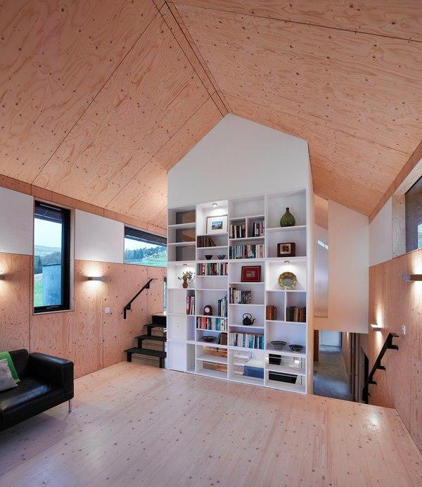 Reconversion d un moulin en maison de campagne au royaume uni construire tendance - Architecture salon maison ...