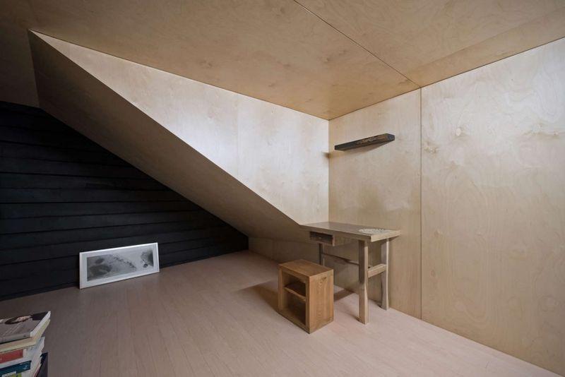 maison semi enterr e dans les roches en cor e du sud construire tendance. Black Bedroom Furniture Sets. Home Design Ideas