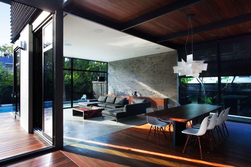 Superbe transformation d 39 une maison traditionnelle for Architecture quebecoise