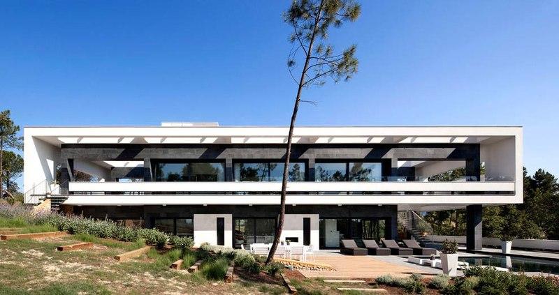 Magnifique r sidence familiale avec piscine en espagne - La residence kitchel par boora architects ...