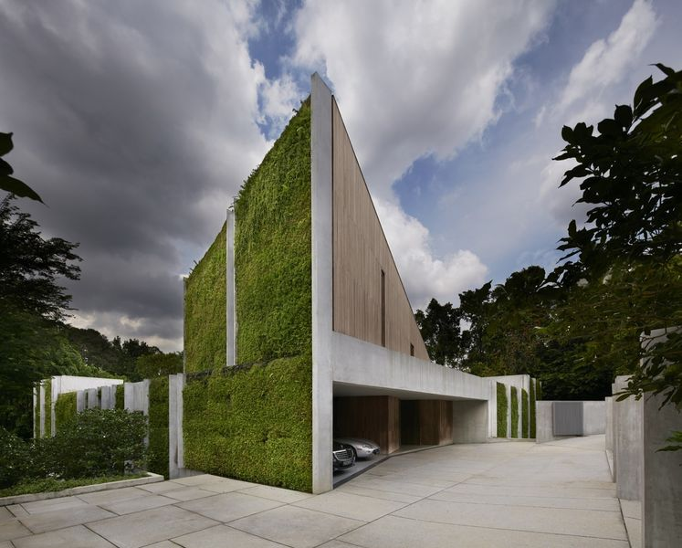 Immense maison contemporaine quasi auto suffisante - La maison wicklow hills par odos architects ...