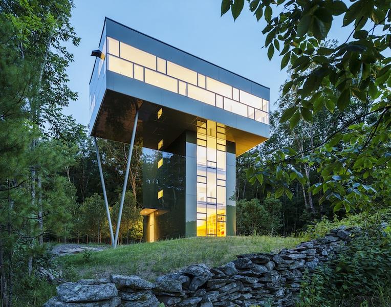 25 exemples de maisons atypiques architecture singuli re - La residence kitchel par boora architects ...