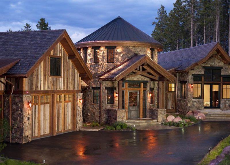20 maisons de conception bois et pierre au caract re exceptionnel construire tendance. Black Bedroom Furniture Sets. Home Design Ideas