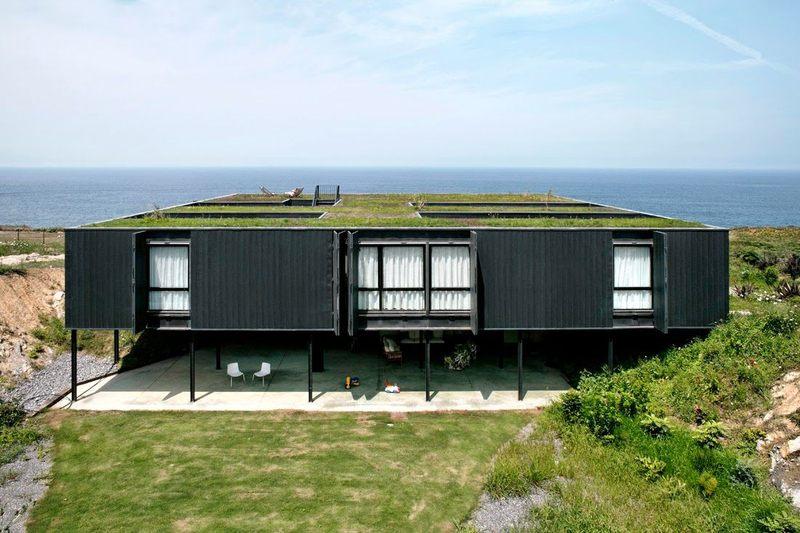 25 maisons container au design contemporain construire for Maison container gard