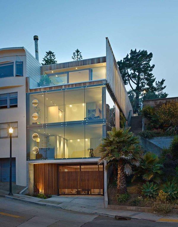 20 maisons de verre contemporaines construire tendance - Magnifique residence hunters hill en australie ...