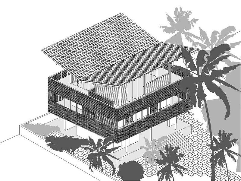 Plan Maison Tropicale Gratuit  Plan Appartement Studio R Sidence